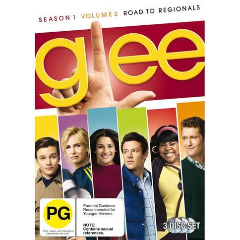 Glee Season 1 Volume 2 Road To Nationals DVD 3Disc