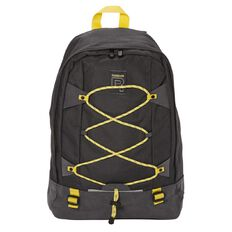 Reebok Ventilator Backpack Dark Grey & Yellow