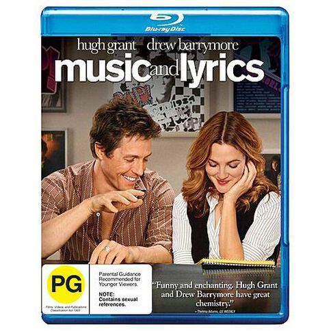 Music and Lyrics Blu-ray 1Disc