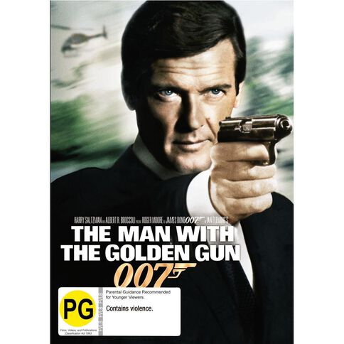 Man with The Golden Gun The 2012 Version DVD 1Disc