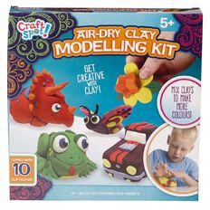 Craft Spot Air-Dry Clay Modelling Kit