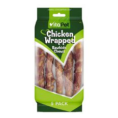 Vitapet Chicken Wrapped Sticks 5 Pack