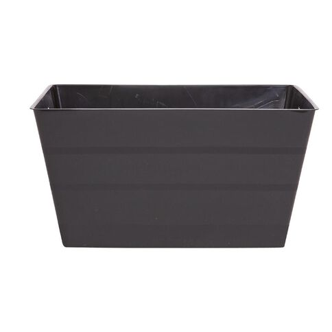 Italio Flexi Tub Rectangular Black 30L