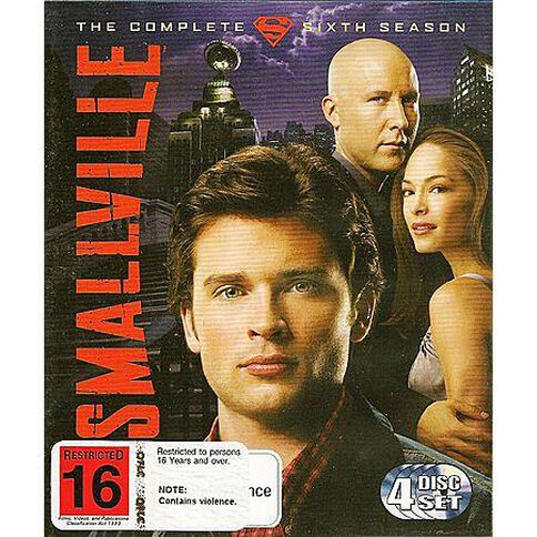 Smallville Season 6 4 Blu-ray Discs