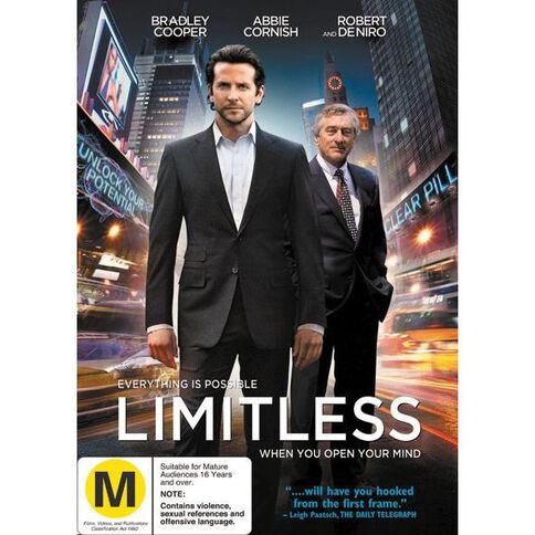 Limitless FKA The Dark Fields DVD 1Disc