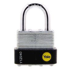 Yale 125 Series Padlock Laminated 40mm
