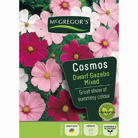 McGregor's Cosmos Gazebo Mixed Flower Seeds