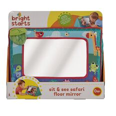 Bright Starts Sit & See Safari Floor Mirror