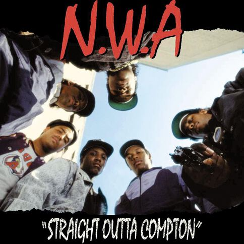 Straight Outta Compton Vinyl by N W A 1Record