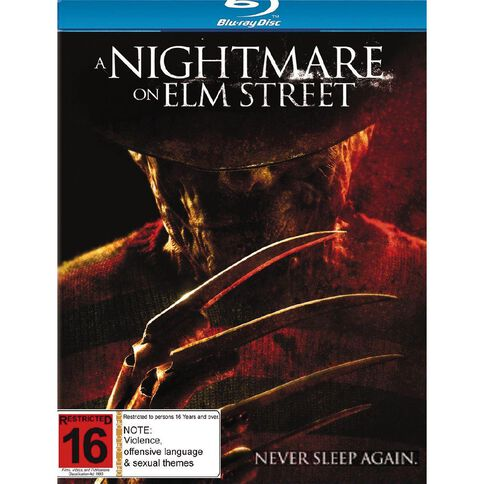Nightmare On Elm St Blu-ray 1Disc