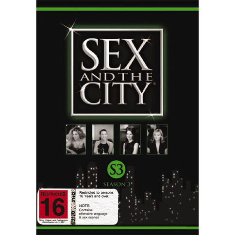 Sex And The City Season 3 DVD 3Disc