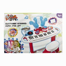 Winfun Beat Bop Electronic Keyboard Super Star Set