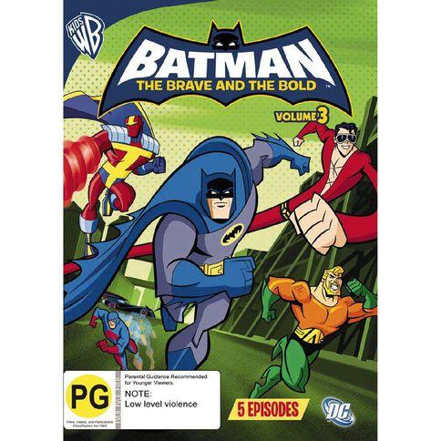 Batman Brave Bold Volume 3 DVD 1Disc
