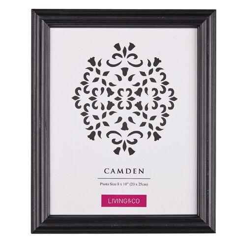 Living & Co Frame Camden Black 8in x 10in