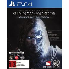 PS4 Shadow of Mordor Game of the Year Edition