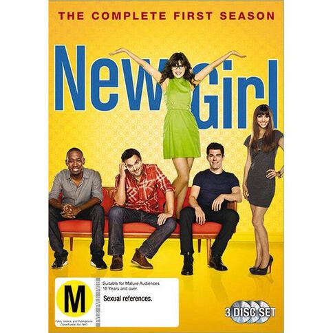 New Girl Season 1 DVD 3Disc