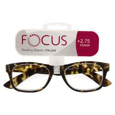 Focus Reading Glasses Italian 2.75