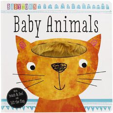 Baby Town Touch and Feel Baby Animals Board Book