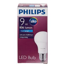 Philips LED Bulb 9-60W E27 6500K 230V A60 AU/PF Cool