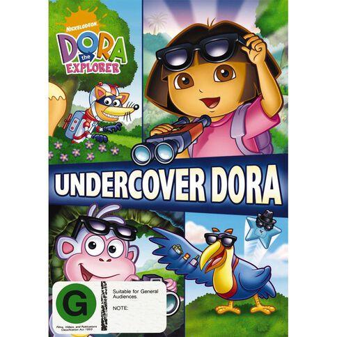 Dora The Explorer Undercover Dora DVD 1Disc
