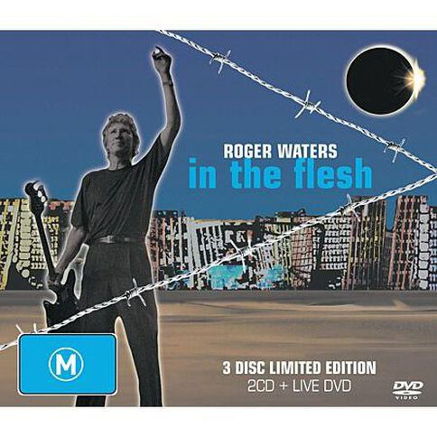 In The Flesh by Roger Waters 2CD/DVD