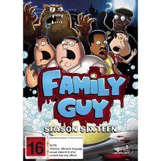 Family Guy Season 16 DVD 3Disc