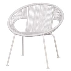 Living & Co Replica Acapulco Chair White