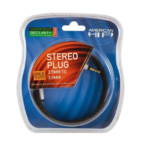 American Hi-Fi 3.5 - 3.5mm Cable 1.5m