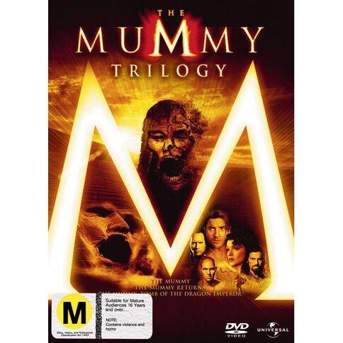 The Mummy Trilogy DVD 3Disc