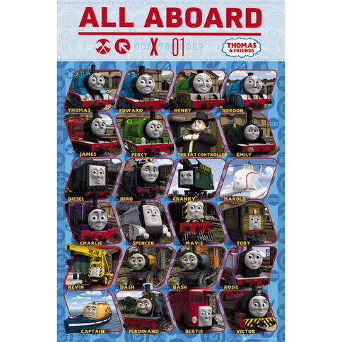 Thomas The Tank Engine Characters Poster