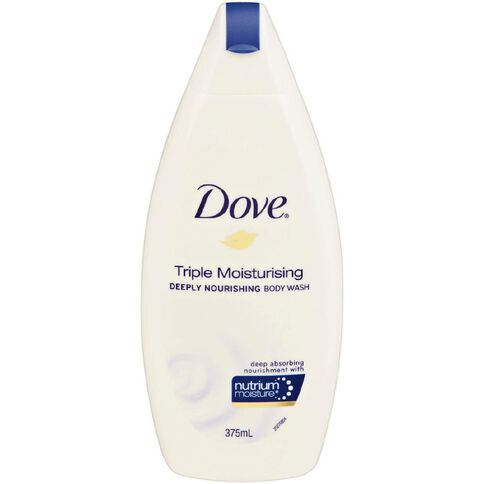 Dove Body Wash Triple Moisturising 375ml