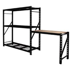 Shelf & Work Bench Combo Set