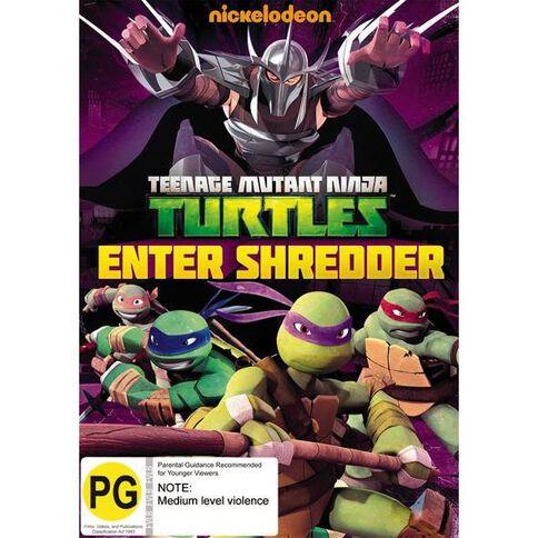 Teenage Mutant Ninja Turtles Enter Shredder DVD 1Disc