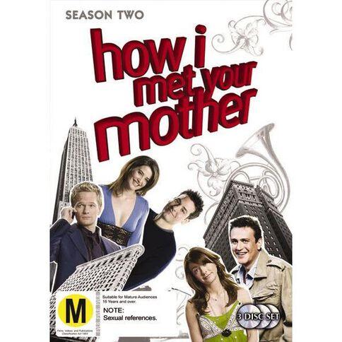 How I Met Your Mother Season 2 DVD 3Disc