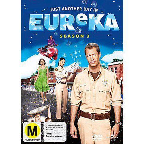 Eureka Season 3 DVD 4Discs