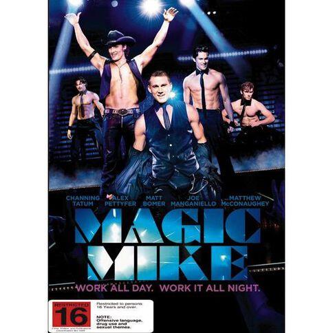 Magic Mike DVD 1Disc