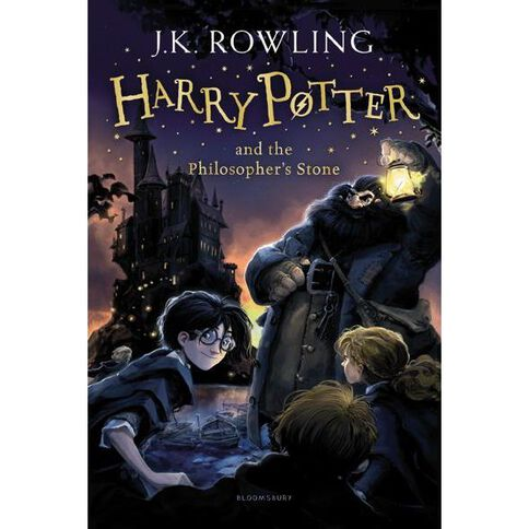 Harry Potter #1 The Philosophers Stone by JK Rowling