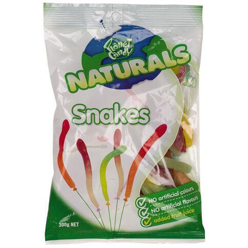 Planet Candy Natural Snakes 300g