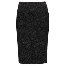Maya Textured Pencil Skirt