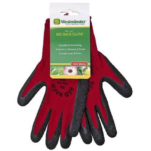 Westminster Red Back Gloves Abrasion and Prickle Resistant Small