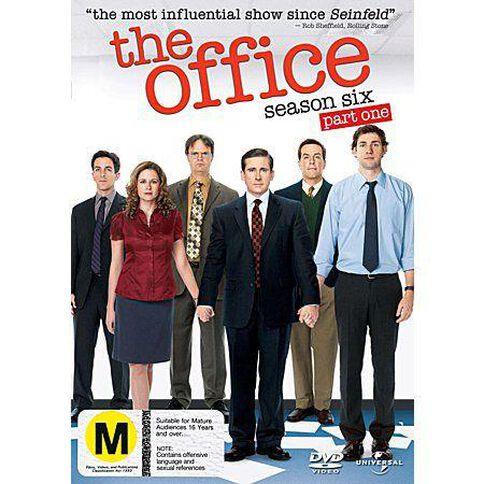 The Office Season 6 Part 1 DVD 2Discs