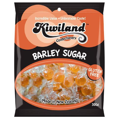 Kiwiland Barley Sugar Flavour Boiled Sweets