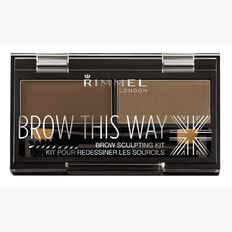 Rimmel Brow this Way Eyebrow Powder Kit Mid Brown