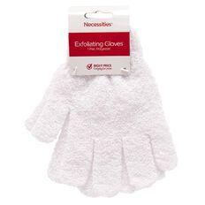 Necessities Brand Bath Exfoliating Gloves