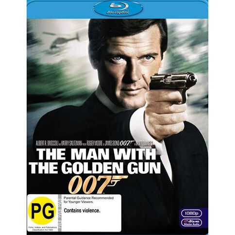 Man with The Golden Gun The 2012 Version Blu-ray 1Disc