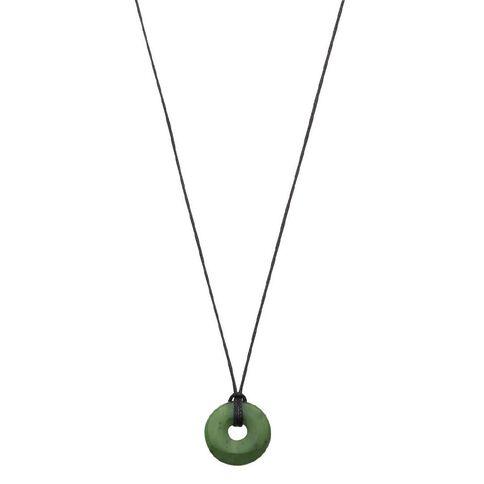 Jade Small Donut Pendant