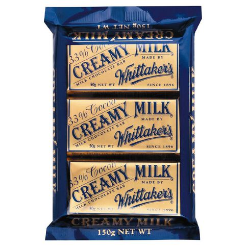 Whittaker's Multipack Slab Creamy Milk 3 Pack