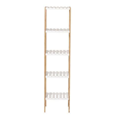 Living & Co Bamboo Shelf 5 Tier