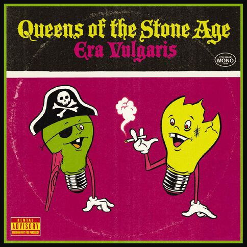 Era Vulgaris CD by Queens Of The Stone Age 1Disc