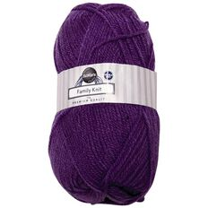 Rosie's Studio Family Yarn Double Knit Violet 50g
